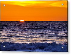 Del Mar Sunset, View 2 Acrylic Print