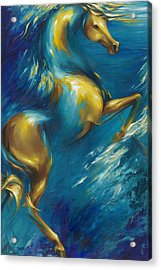 Acrylic Print featuring the painting Del Sol by Dina Dargo