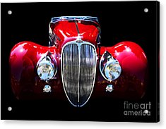 Delahaye Reinterpreted Acrylic Print by Wingsdomain Art and Photography