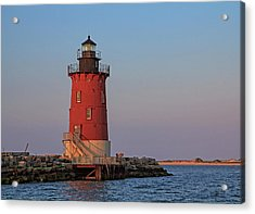 Delaware Breakwater Light 2017 Acrylic Print