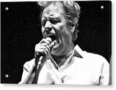 Delbert Mcclinton Sings The Blues Acrylic Print