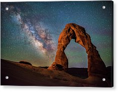 Acrylic Print featuring the photograph Delicate Air Glow by Darren White