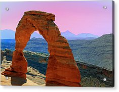 Delicate Arch  --  Arches National Park Acrylic Print