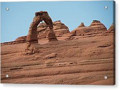 Delicate Arch Alternate View Acrylic Print