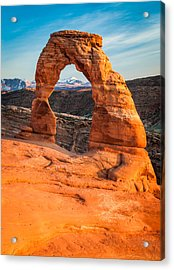 Delicate Arch - Arches National Park Photograph Acrylic Print