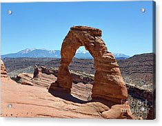 Delicate Arch Arches National Park Acrylic Print