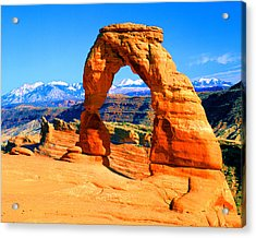 Delicate Arch Acrylic Print