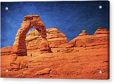 Delicate Arch In Arches Acrylic Print