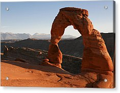 Delicate Arch Acrylic Print by Marilyn Hunt