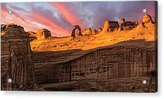 Acrylic Print featuring the photograph Delicate Arch   by Expressive Landscapes Fine Art Photography by Thom