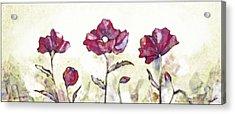 Delicate Poppy I Acrylic Print