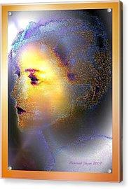 Delicate  Woman Acrylic Print
