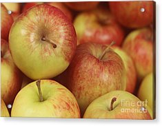 Delicious Apple Fruit Background Acrylic Print