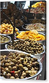 Delicious Olives Acrylic Print