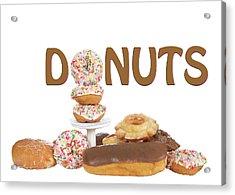 Delightful Donuts Acrylic Print