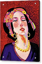 Delilah Acrylic Print by Bob Coonts