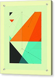 Delineation - 116 Acrylic Print by Jazzberry Blue