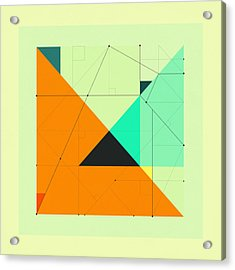 Delineation - 118 Acrylic Print by Jazzberry Blue