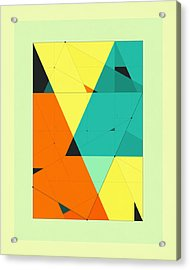 Delineation - 120 Acrylic Print by Jazzberry Blue