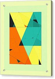 Delineation - 120 Acrylic Print