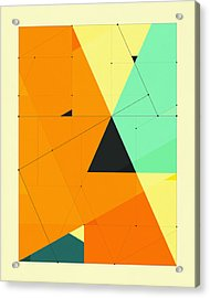 Delineation - 124 Acrylic Print by Jazzberry Blue