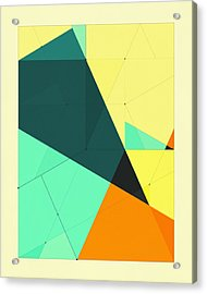 Delineation - 126 Acrylic Print by Jazzberry Blue