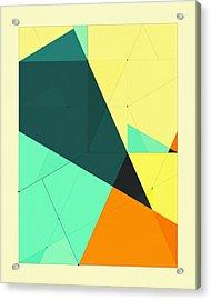 Delineation - 126 Acrylic Print
