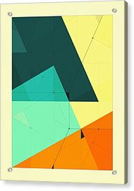 Delineation - 127 Acrylic Print by Jazzberry Blue