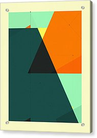 Delineation - 129 Acrylic Print by Jazzberry Blue