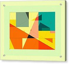 Delineation - Plaza Acrylic Print