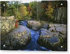 Dells Of The Eau Claire Acrylic Print