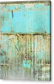 Delray Biker Blues By Anahi Decanio Acrylic Print