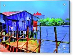 Delta Cove Acrylic Print