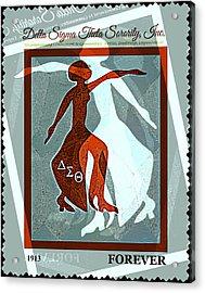 Delta Fortitude Acrylic Print by Lynda Payton