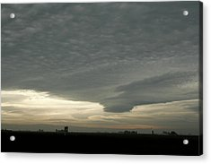 Delta Sky Acrylic Print by Suzanne Lorenz
