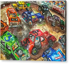 Demo Derby One Acrylic Print