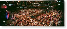 Democratic Convention At Madison Square Acrylic Print