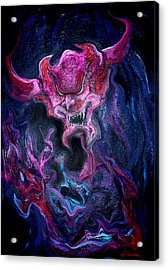 Demon Fire Acrylic Print
