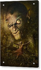Demonic Evocation Acrylic Print