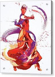 Jaunt Acrylic Print by Penny Warden