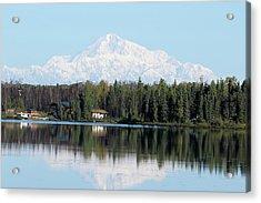 Denali From Kashwitna Lake Acrylic Print