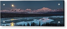 Denali Morning Blue Acrylic Print
