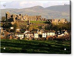 Denbigh Castle Acrylic Print