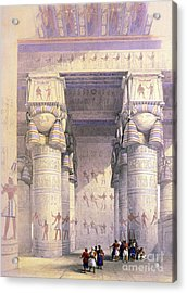 Dendera Temple Complex, 1930s Acrylic Print by Science Source