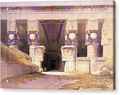 Dendera Temple Complex, 1938 Acrylic Print by Science Source