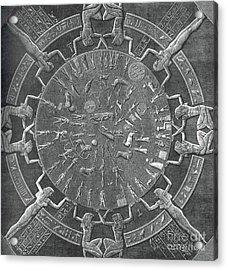 Dendera Zodiac Acrylic Print by Science Source