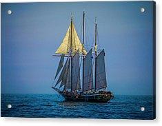 Denis Sullivan - Three Masted Schooner Acrylic Print
