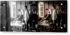 Acrylic Print featuring the photograph Dentist - The Horrors Of War 1917 - Side By Side by Mike Savad