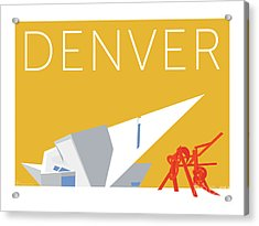 Denver Art Museum/gold Acrylic Print