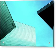 Acrylic Print featuring the photograph Denver Art Museum Hamilton by Marilyn Hunt